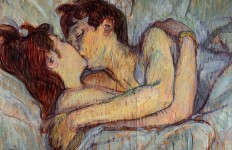 toulouse-lautrec29   in bed the kiss
