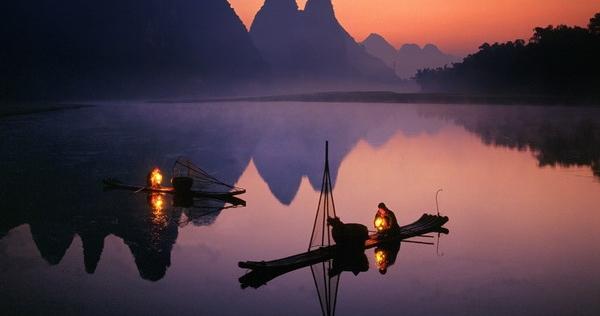 Night-fishing-Li-River-Guilin-China